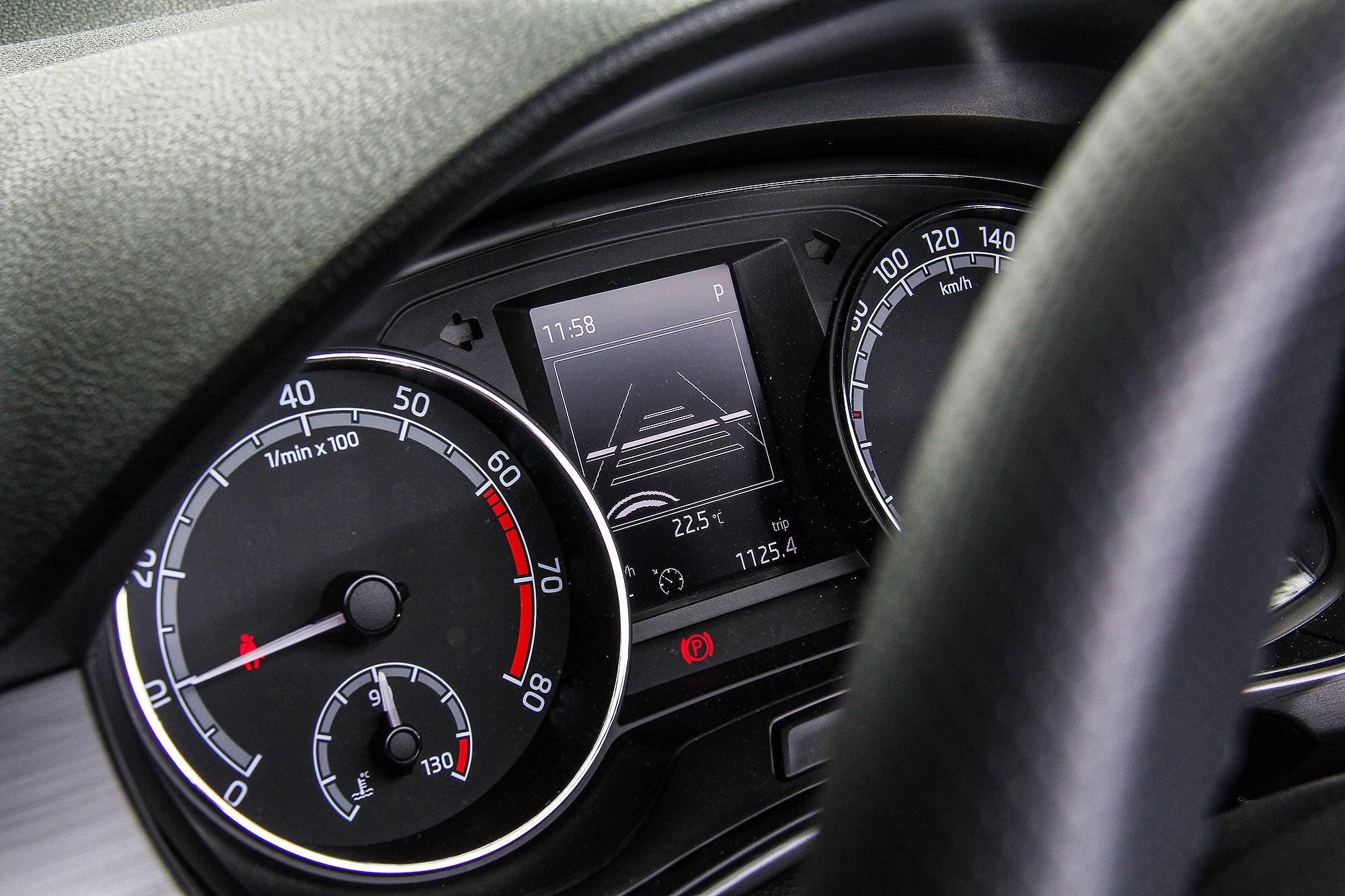 小改款 Fabia 最主要的改款重點,在於 ACC 等 ADAS 先進駕駛輔助系統的導入。