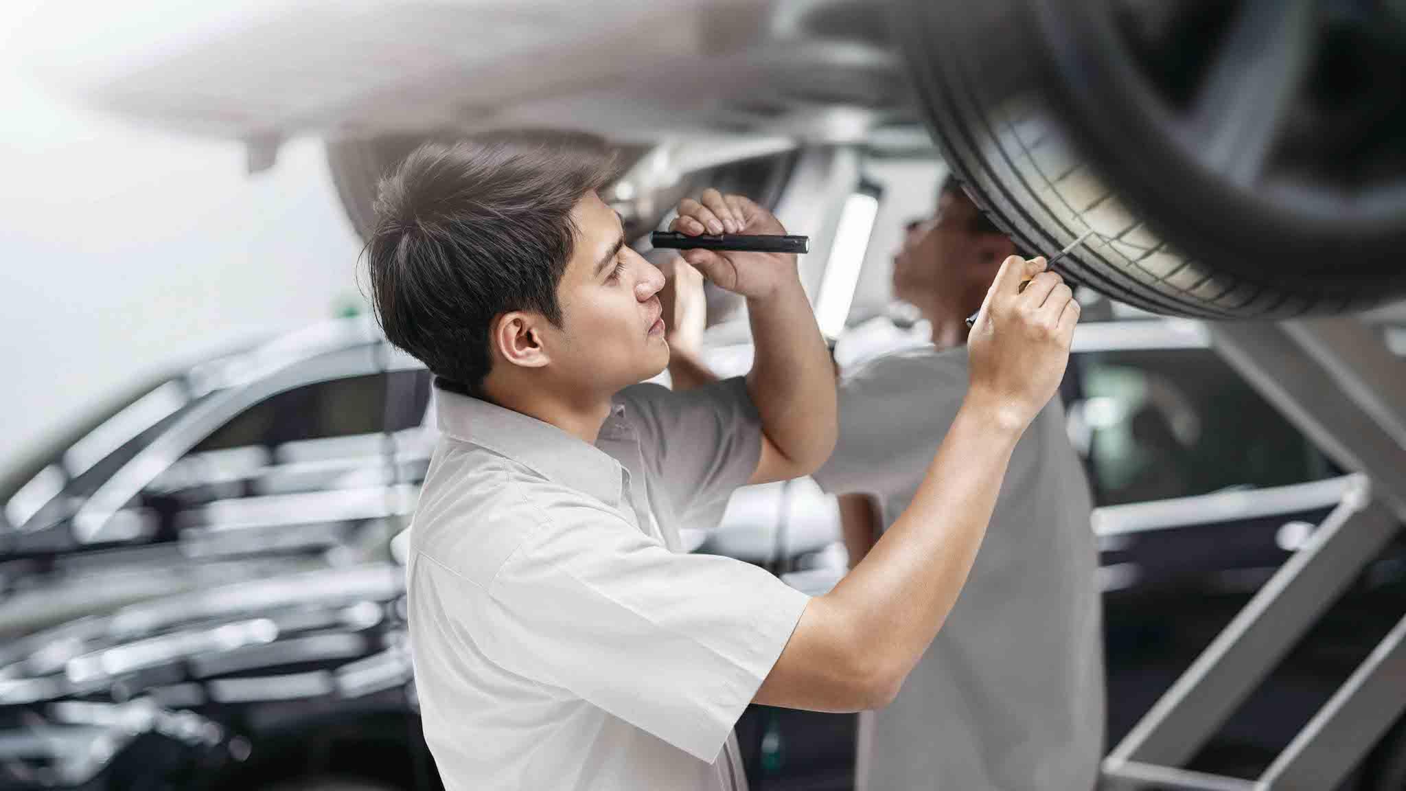 台灣奧迪原廠輪胎保固,推三年或 3 萬公里保固