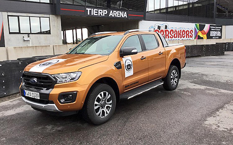 Ford Ranger 通過在瑞典進行為期三天的集體評測後獲得 IPUA 頭銜。