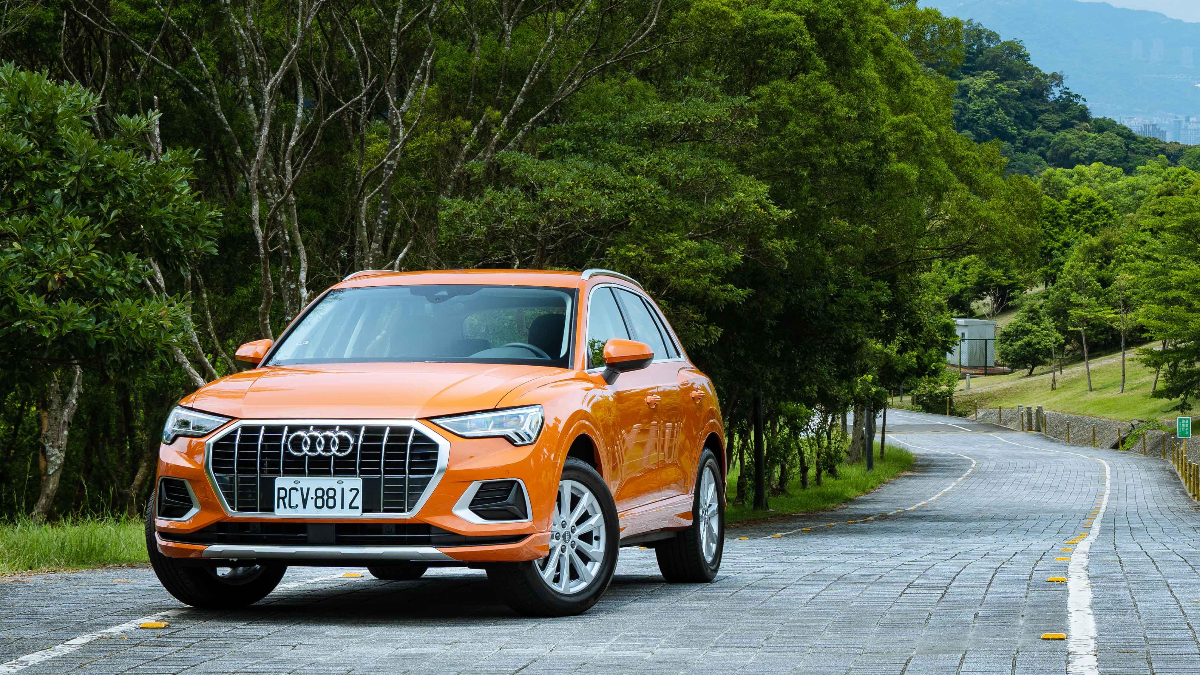 有了 Audi Q3,美也可以實際