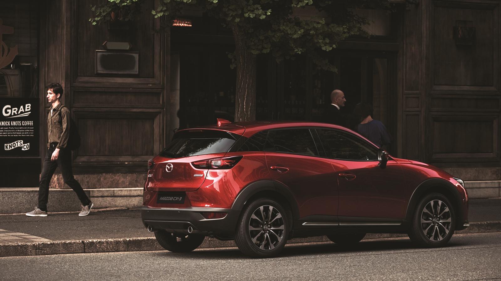 Mazda CX-3 羨定版登場,84.9 萬就有全速域 ACC