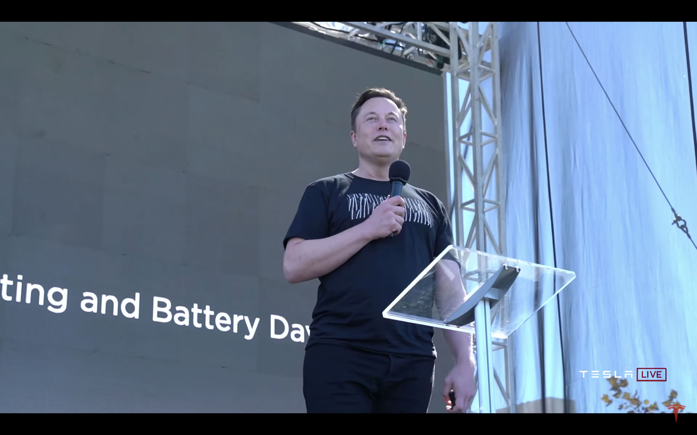 Tesla 執行長 Elon Musk 在 Battery Day 發表全新電池設計,以及車廠未來的發展方向。