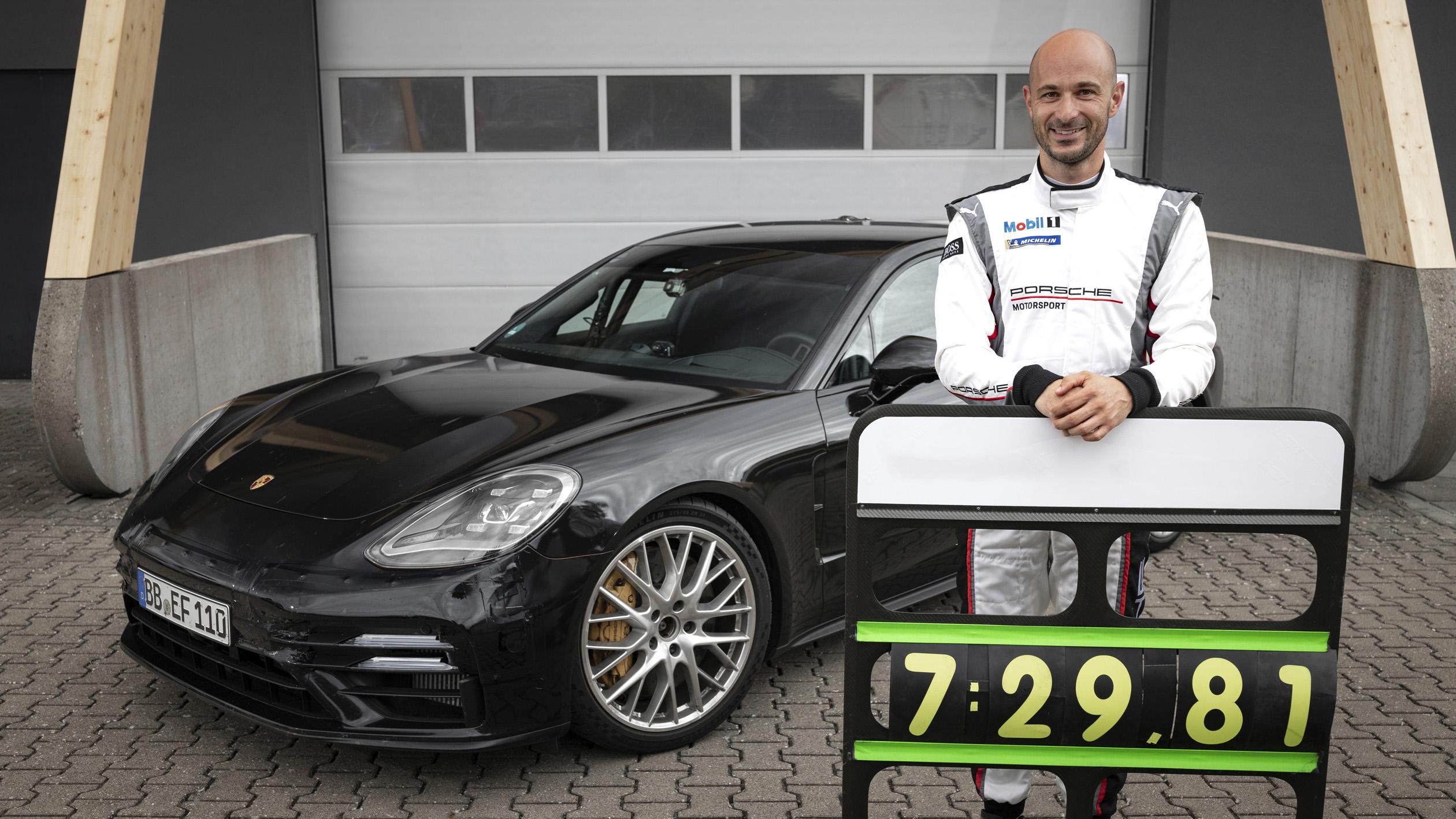 主管趕時間就靠它了,Porsche 小改 Panamera 刷新紐柏林北環單圈紀錄