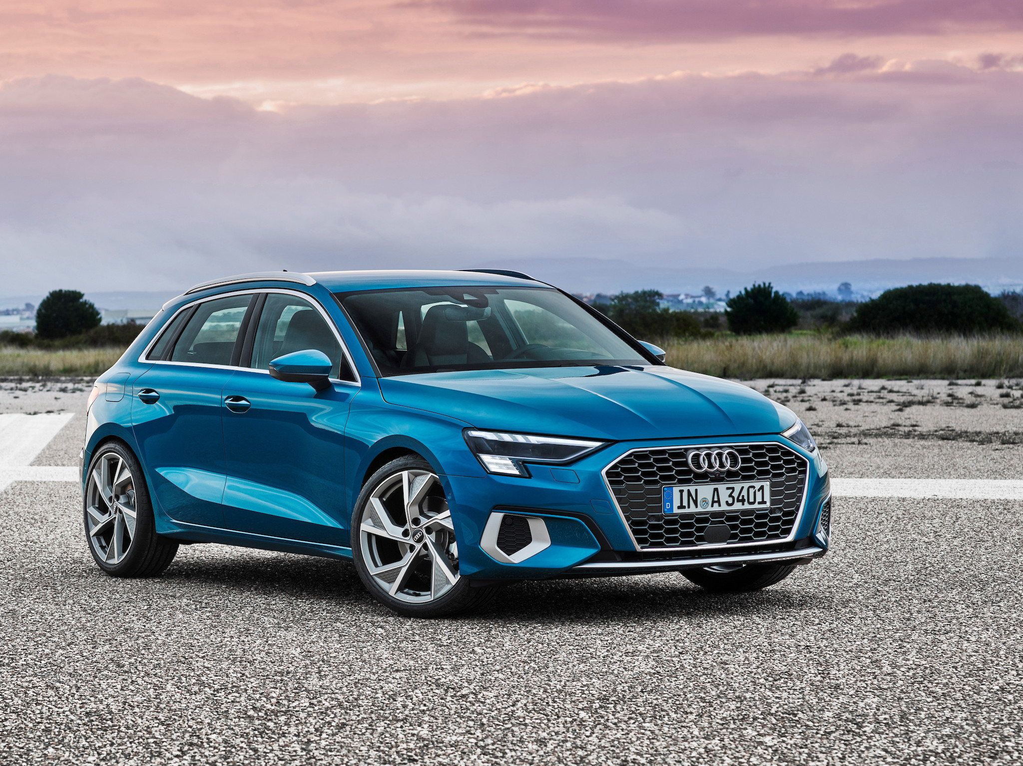 Audi A3 Sportback。