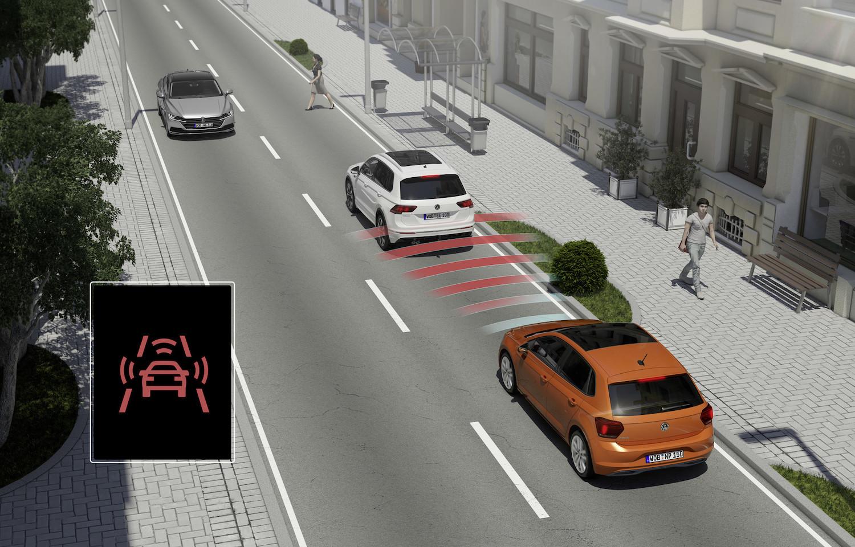 Volkswagen 全車系皆已標備 IQ.Drive 智能駕駛輔助系統。