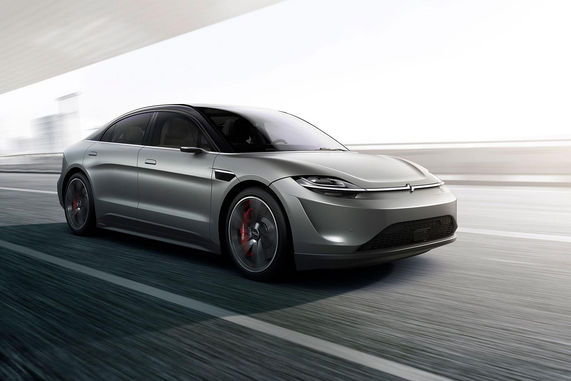 Vision-S 概念車是今年 CES 的大驚喜。