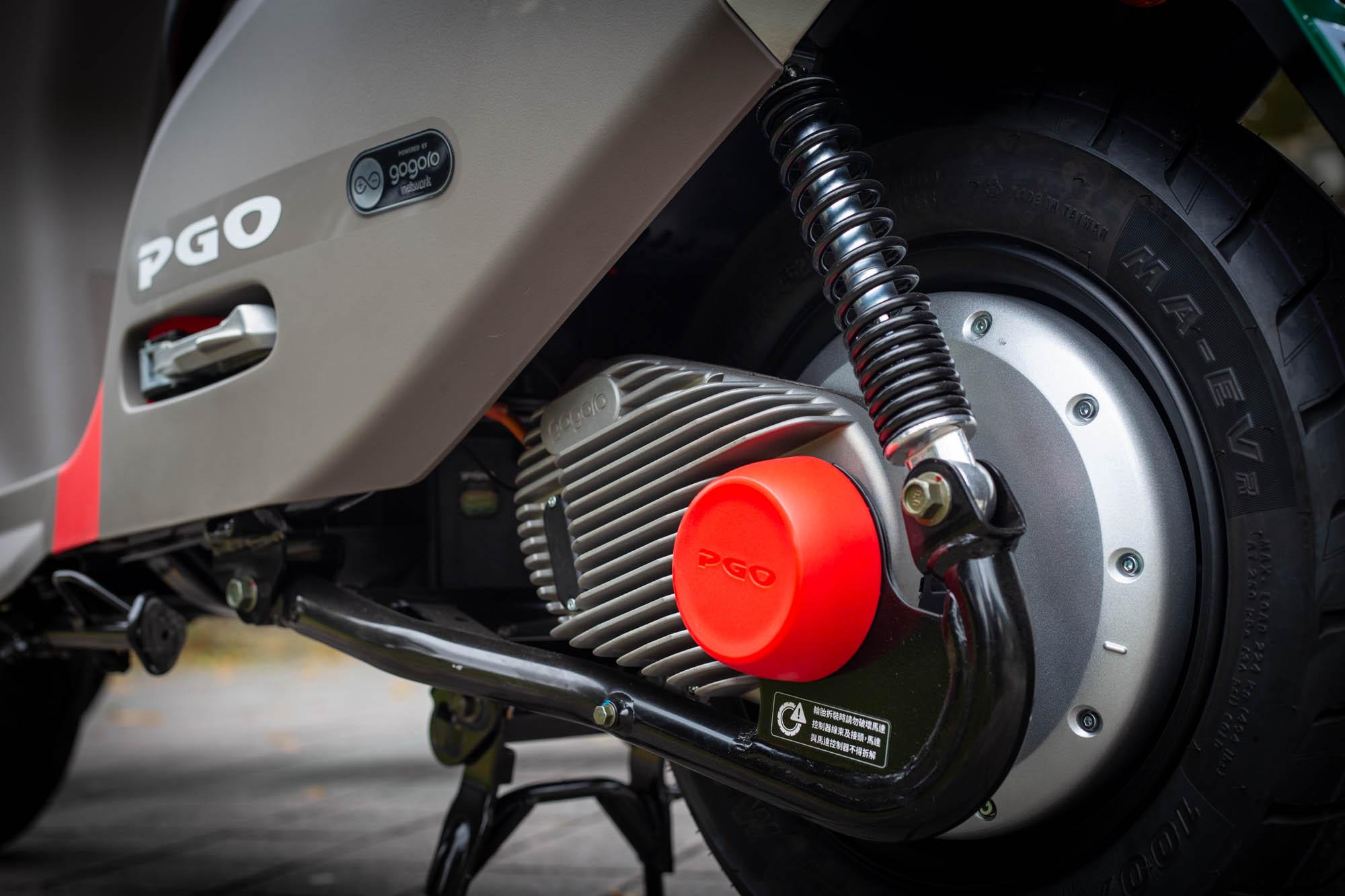 搭載 GH1 鋁合金輪轂馬達,提供 4.02hp/500rpm 最大馬力與 115Nm/200rpm 最大扭力。