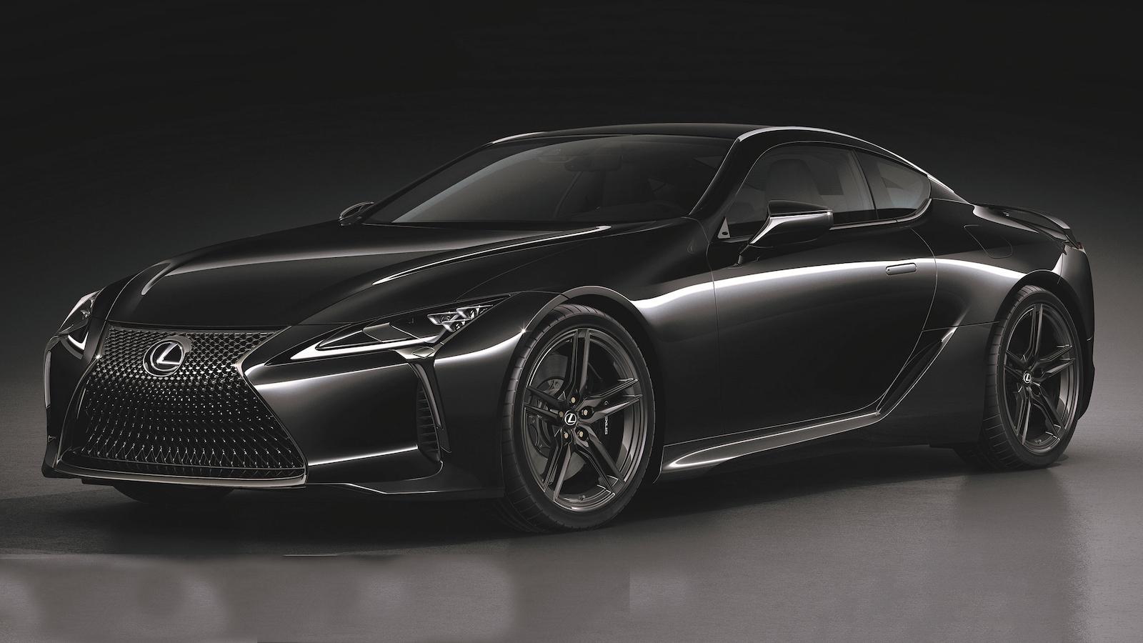 全台僅三輛!Lexus LC Limited Edition 化身黑武士 580 萬起