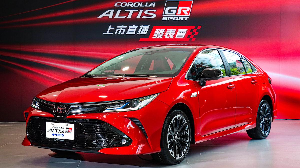 全新 Toyota Altis GR Sport 性能版雙動力 82.8 萬起登場
