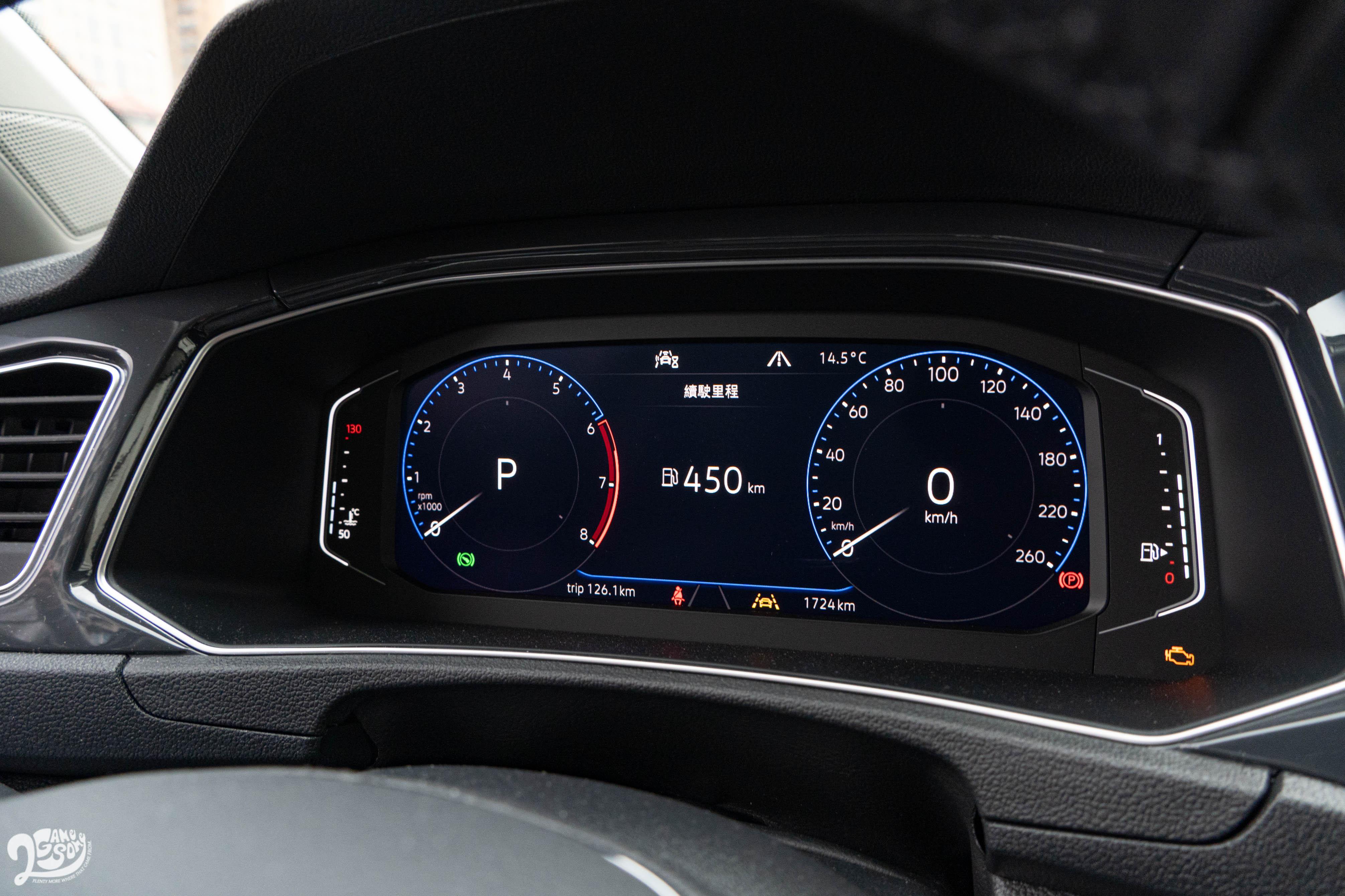 標配 Digital Cockpit Pro 10.25 吋全邏輯數位化儀表。