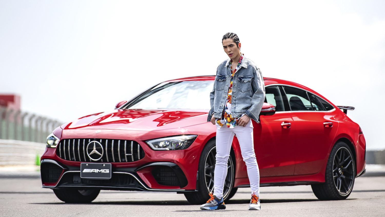 飆車飆高音!蕭敬騰合體 Mercedes-AMG GT 63 S 4MATIC+(內有影片)