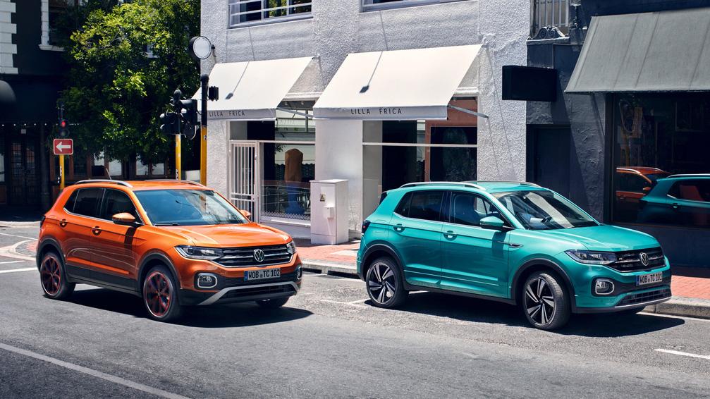 新年式 Volkswagen T-Cross 新增智能特仕版,Touran/Tiguan Allspace 動力升級 109.8 萬起