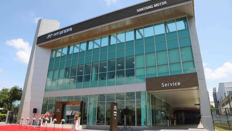 ▲ Hyundai 嘉義 GDSI 旗艦展示中心 9 月 14 日正式開幕