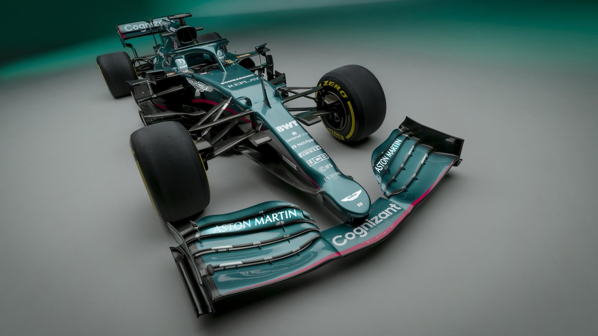 英國賽車綠回歸!Aston Martin 發表全新 F1 賽車