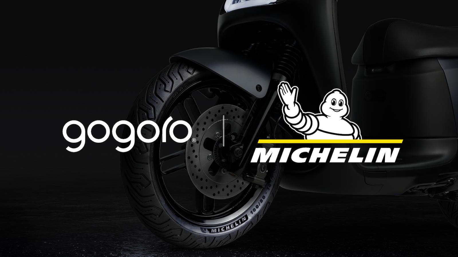 Gogoro 與米其林打造電動機車專胎,Gogoro S2 率先標配