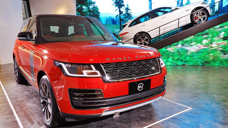 「撞車」絕緣體!台灣 JLR 展示全台唯一 Range Rover SVAutobiography Dynamic