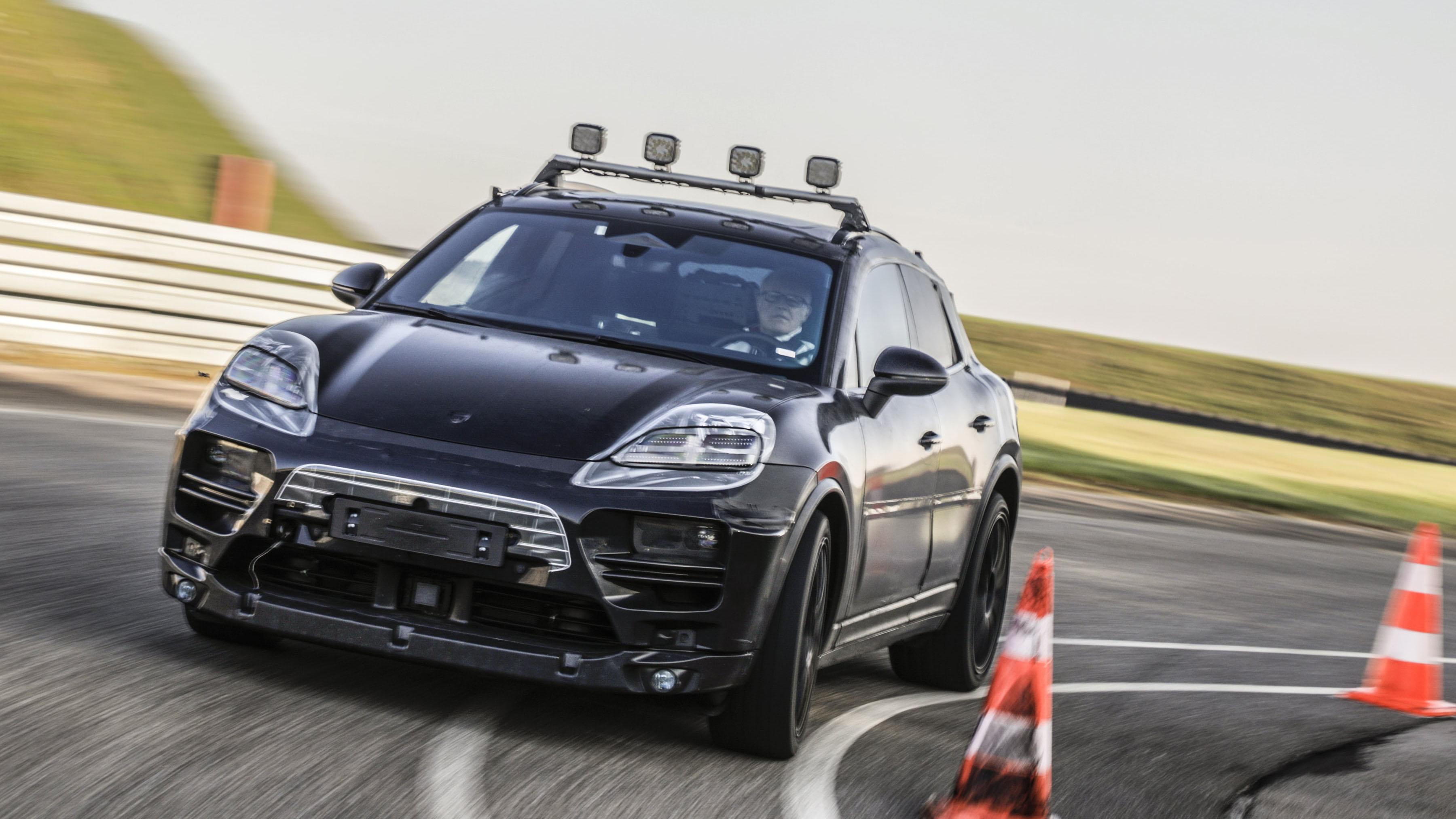 Porsche Macan 2023 年純電化,虛實測試同步進行中