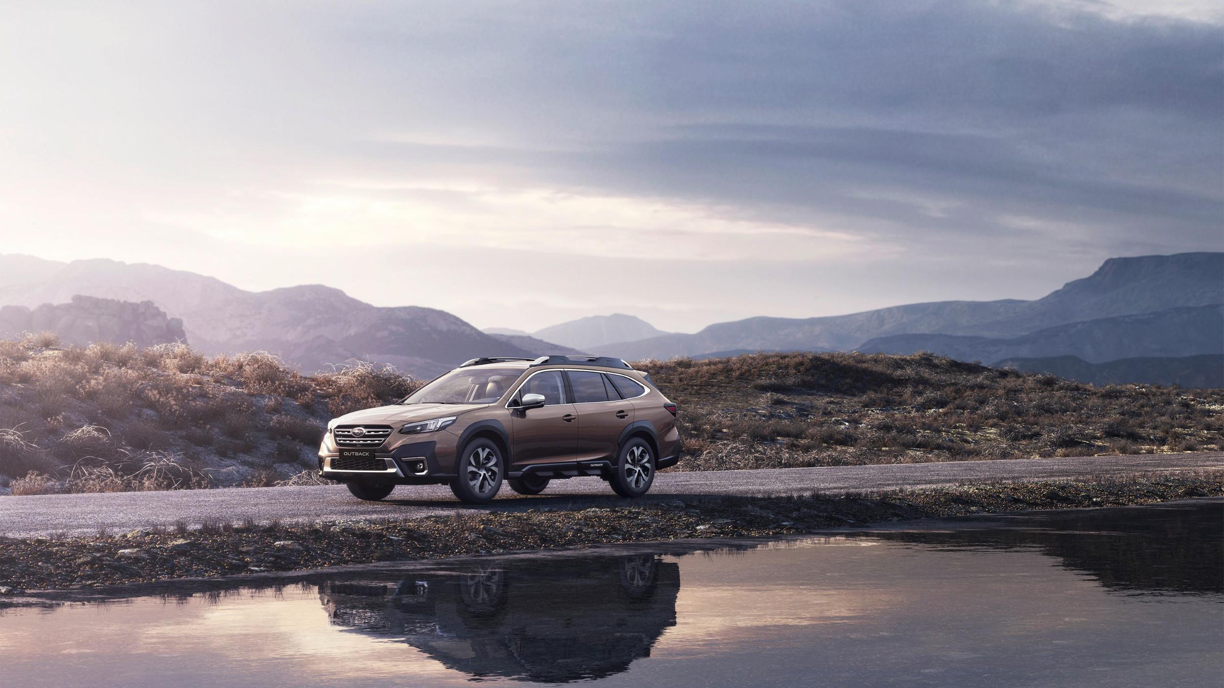 ▲ Subaru Outback 限量推出 Nappa 頂級雙色座椅