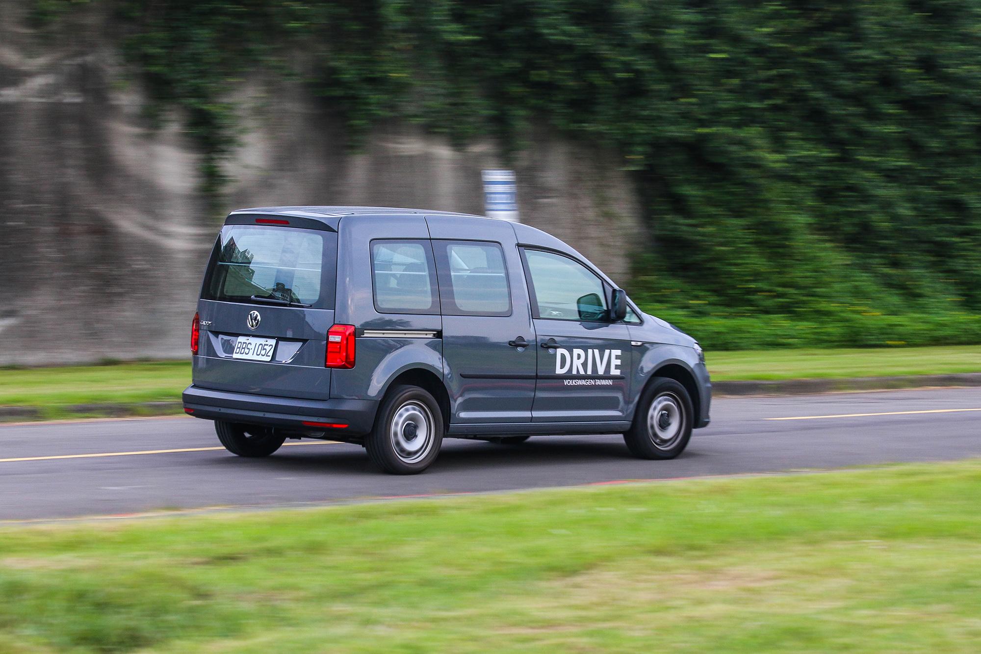 Caddy Van 1.4 TSI DSG 配備有完整的主、被動安全配備。