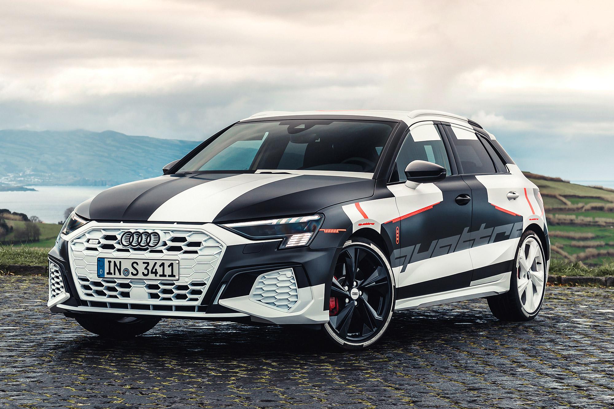 新世代 A3 Sportback 預告 2020 年日內瓦車展發表。