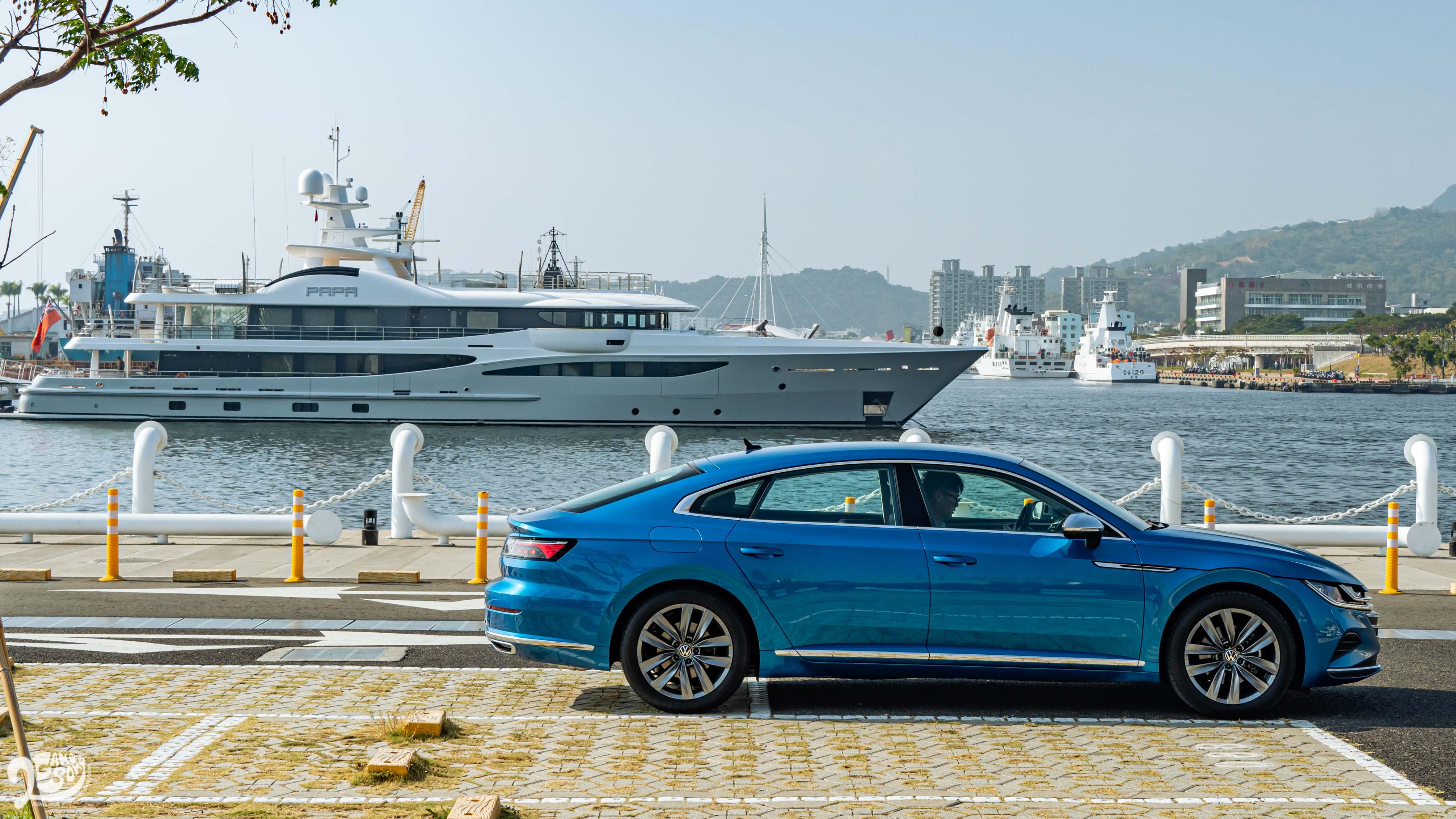 定位為四門轎跑、四門 Coupe 車型的 Arteon,美型美款的外型,絕對是吸引市場目光的關鍵。