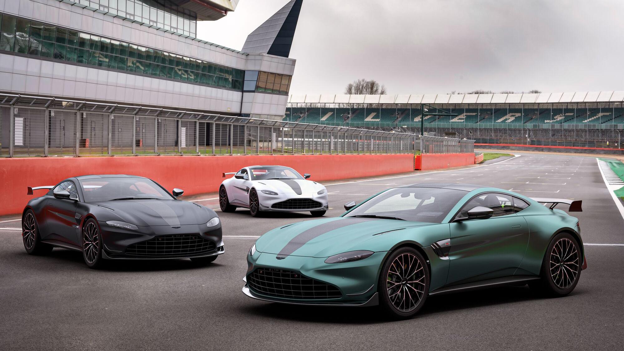 紀念回歸 F1,Aston Martin Vantage F1® Edition 售價 1088 萬起開放接單