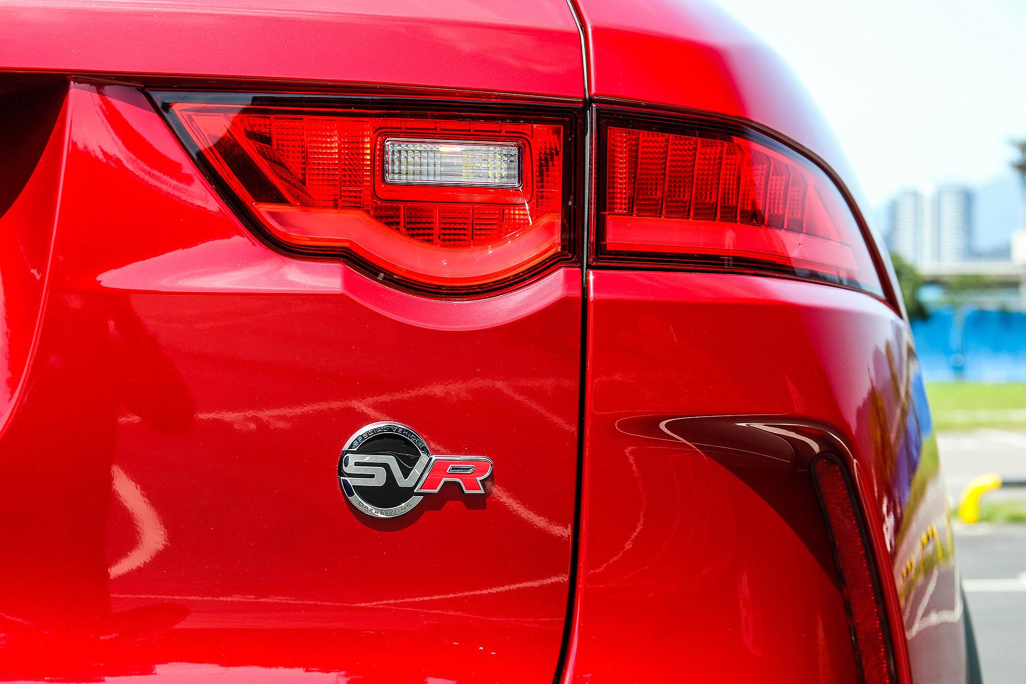 SVO 這次將手伸向了 F-Pace 車系,打造 F-Pace SVR 。