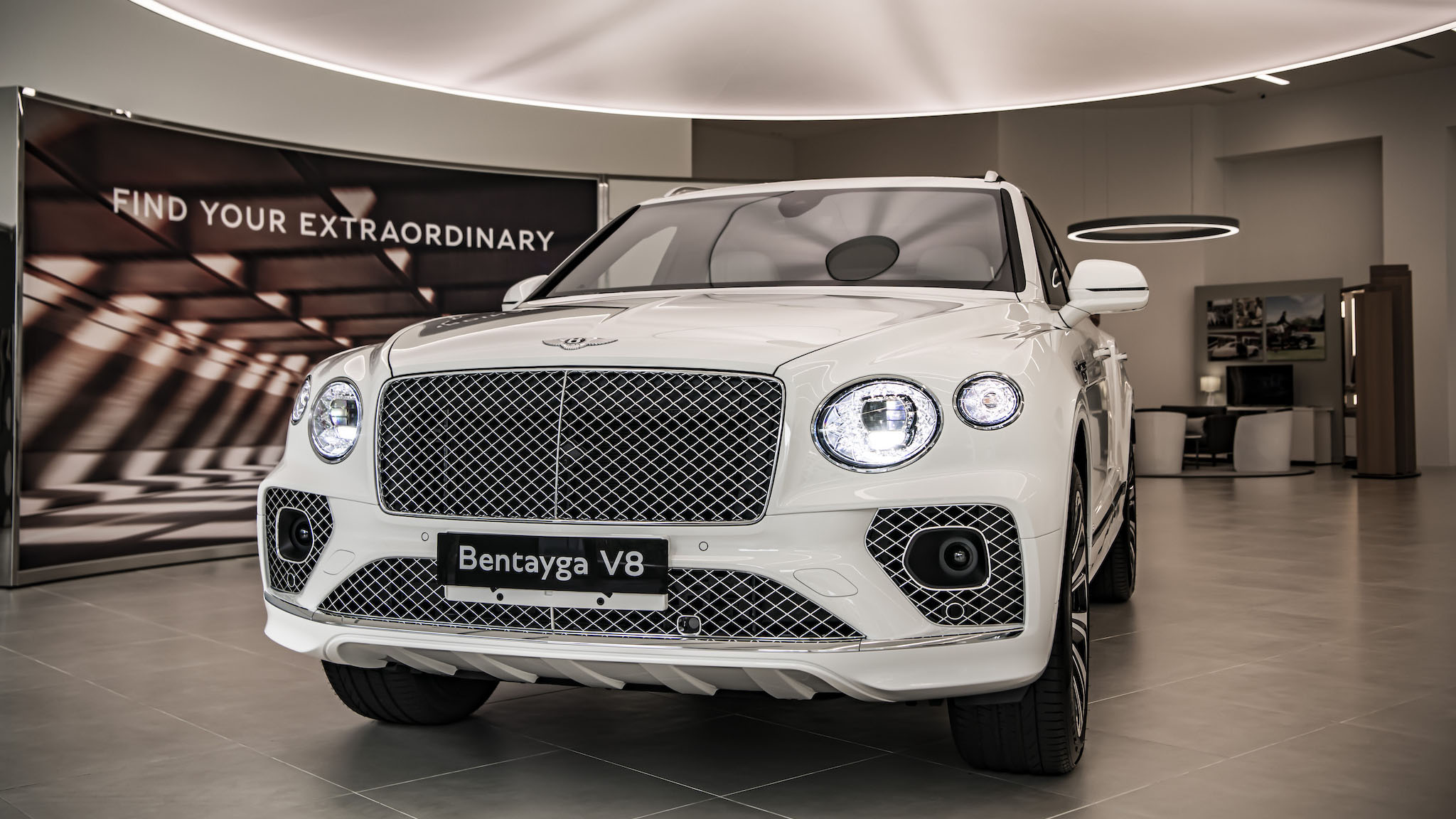 ▲ 古典美學層峰休旅,小改款 Bentley Bentayga 1080 萬起正式上市