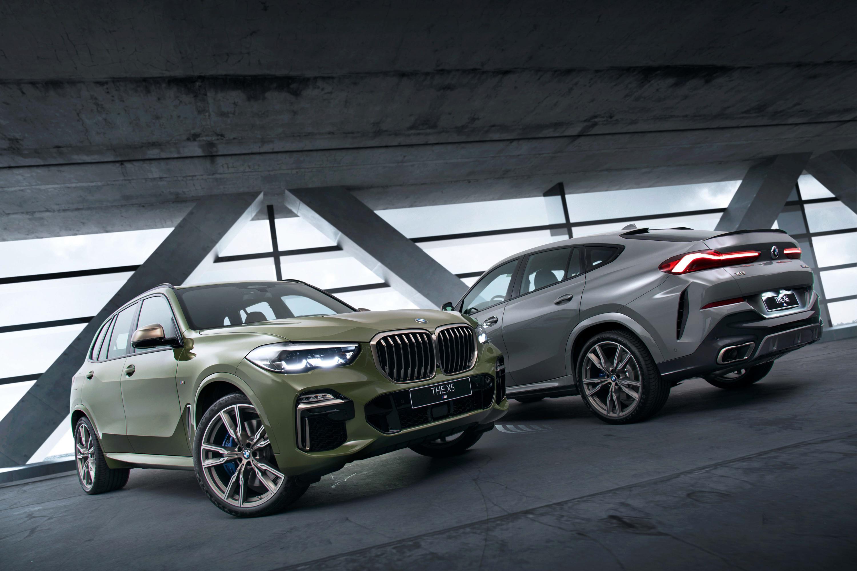 全新 BMW X5 M50i / X6 M50i Individual Edition 共有四款 BMW 專屬特殊車色供車主選擇。