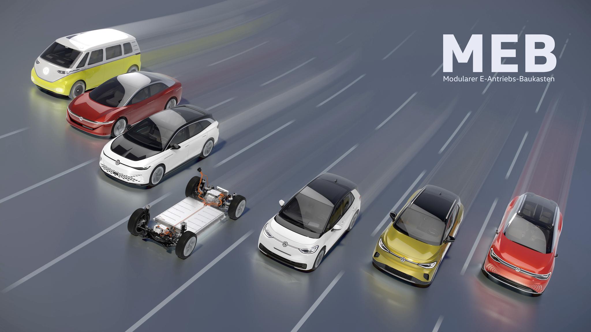 隨著 MEB 平台應用日漸廣泛,福斯 2023 年前會有 7 款電動車。