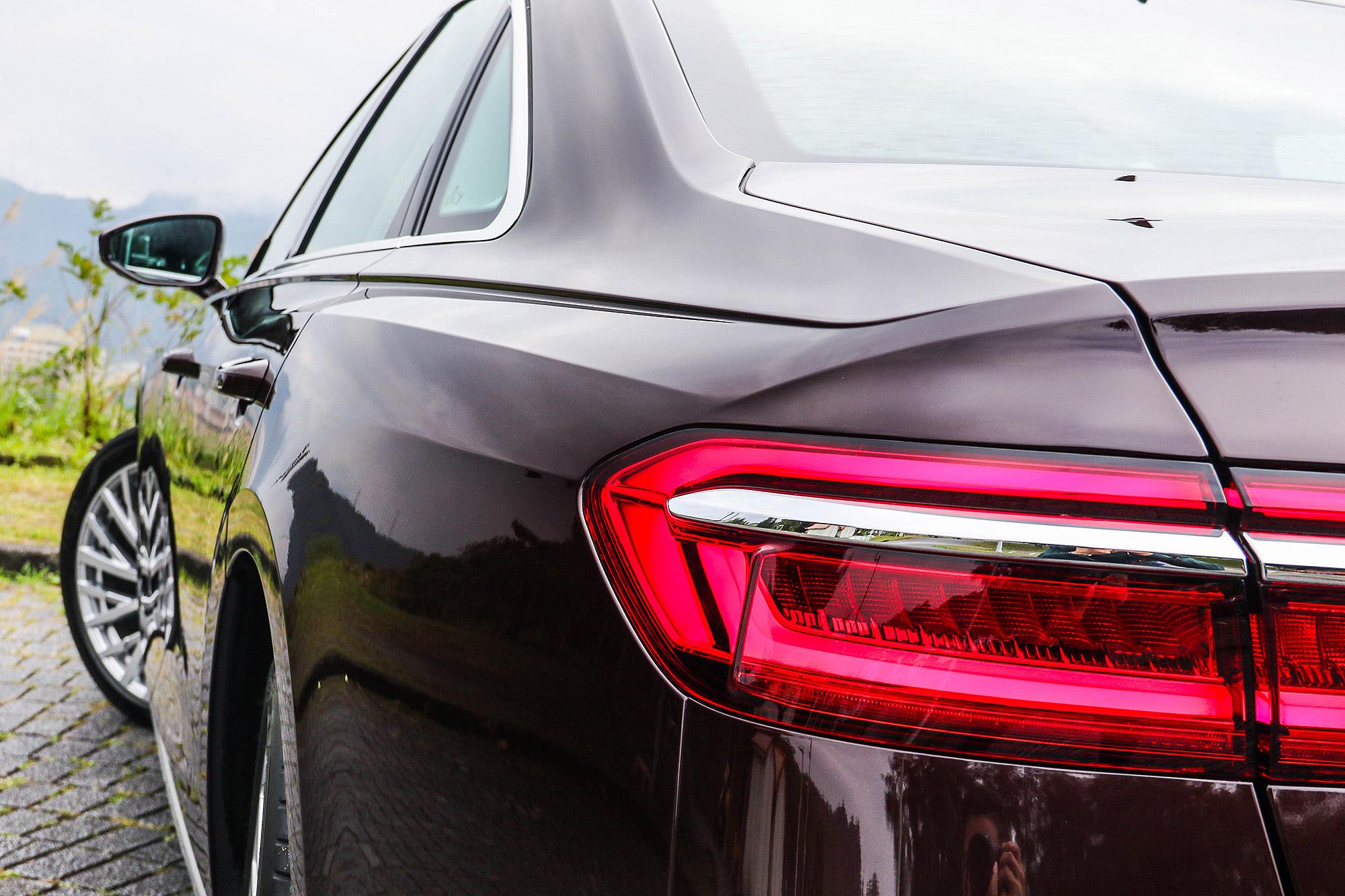 Audi 精準的鈑件折線一直是外觀設計相當迷人之處。