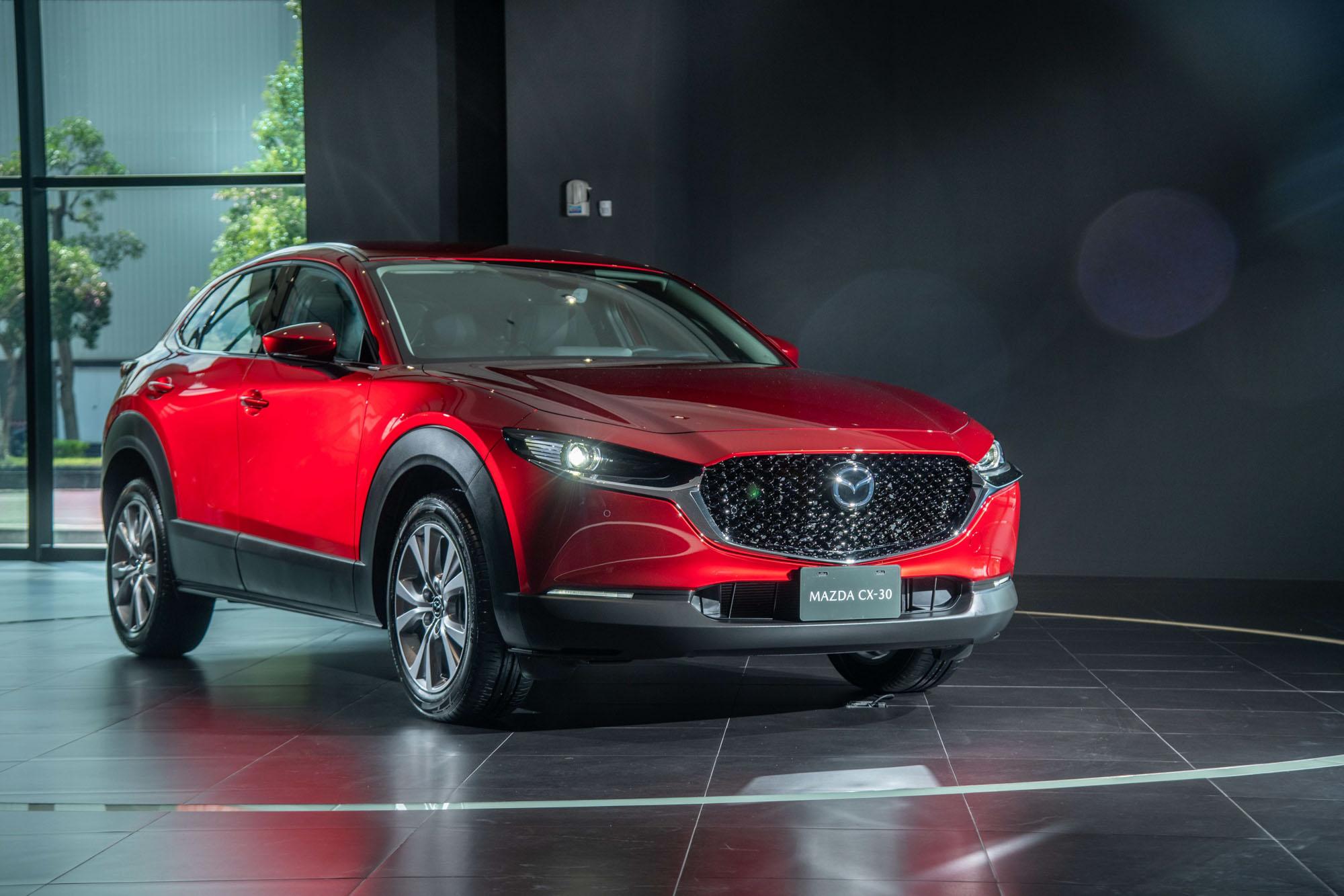 Mazda Taiwan 於 10 月 1 日針對 CX-30 舉辦媒體預賞活動。
