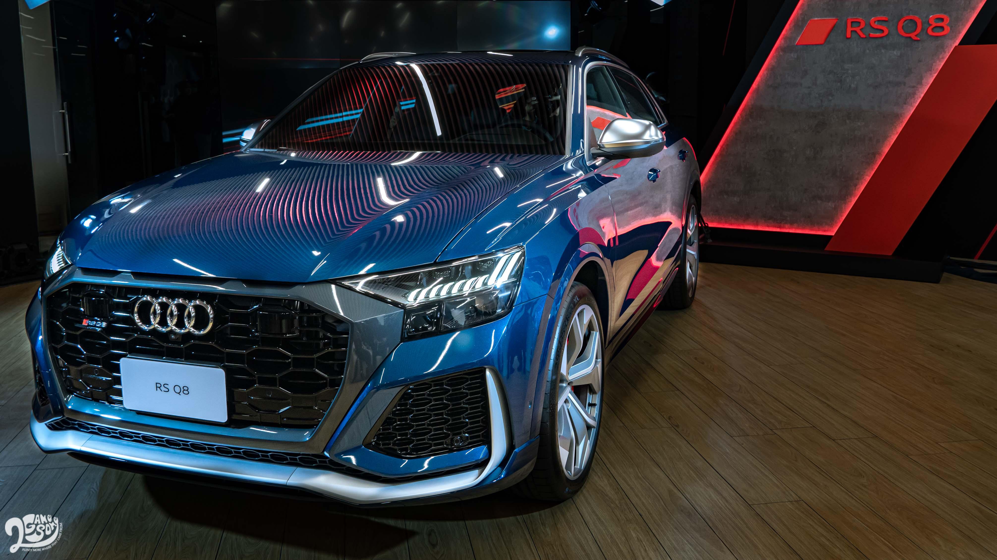 Audi RS Q8 730 萬、Q7 369 萬正式開賣,Q8 預售同步起跑