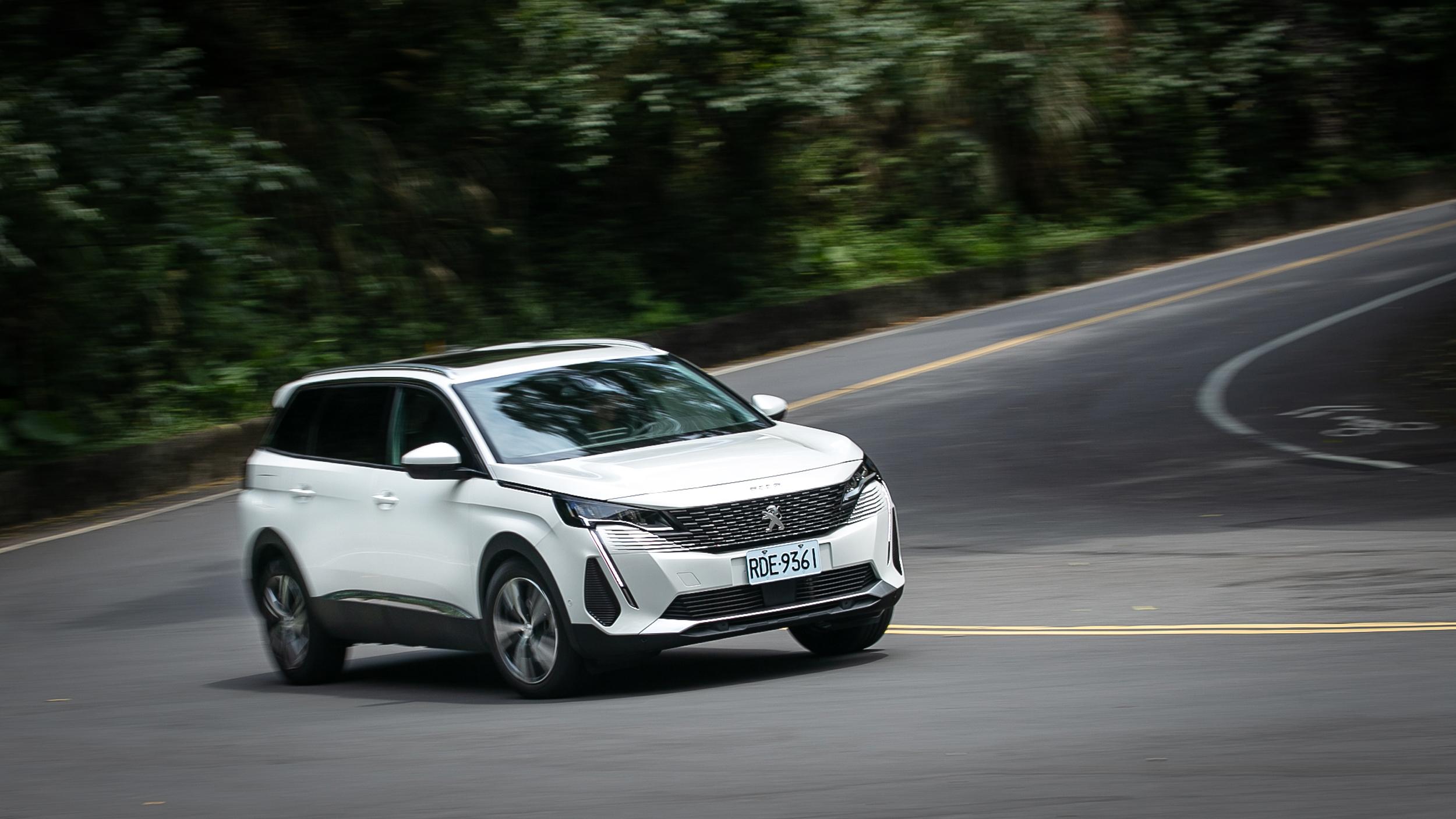 Peugeot 小改款 5008 加入戰局!進口 5+2 人座休旅車購車更添難題!