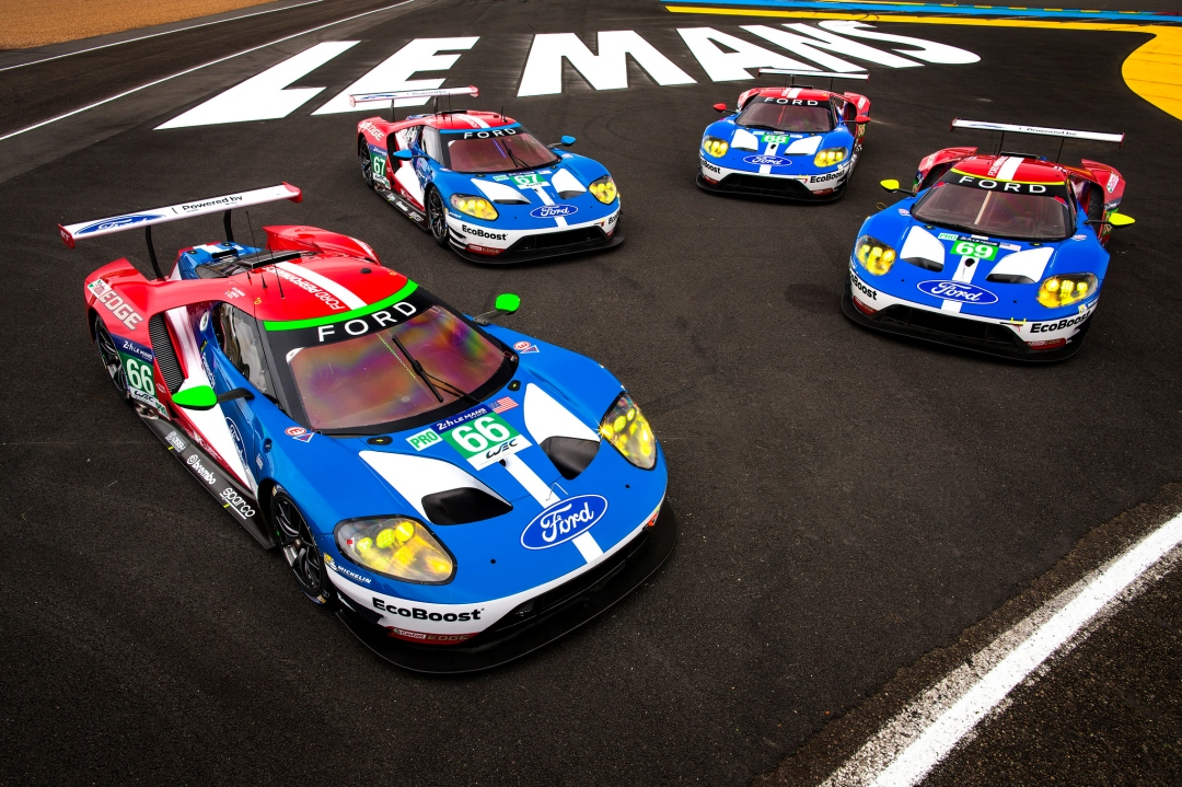 全新 Ford GT 重回法國利曼 24 小時耐力賽。