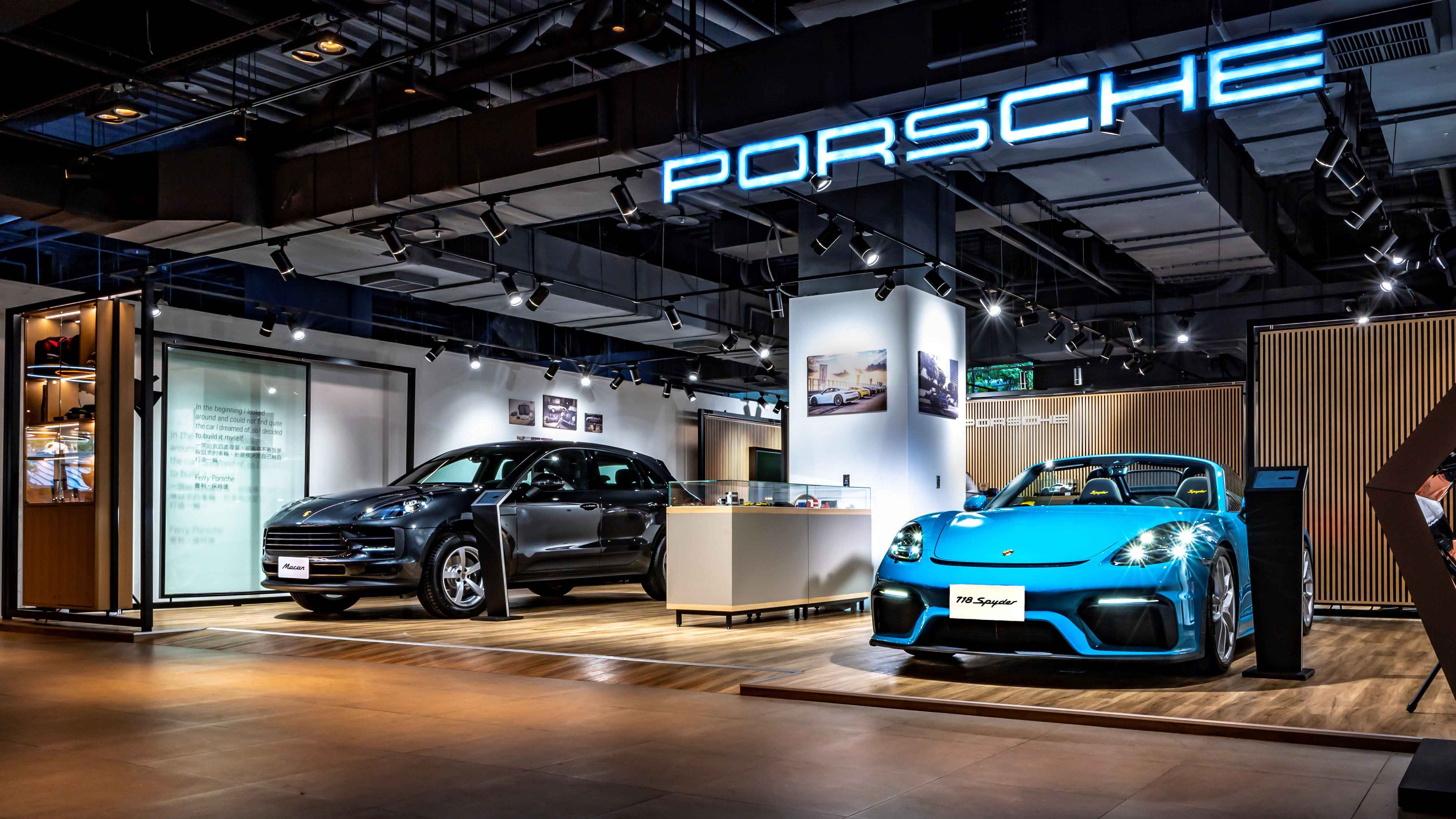 Porsche NOW 全新概念店進駐桃園新光影城百貨