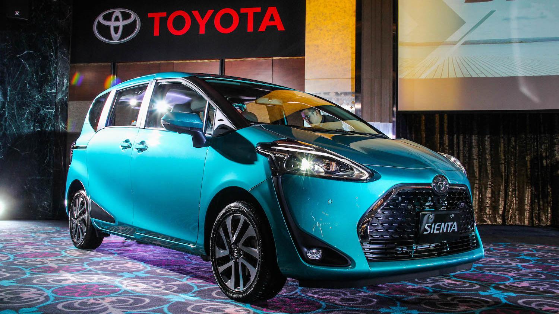 Toyota Sienta 小改款新色新配備入列,7 車型 64.9 萬起上市