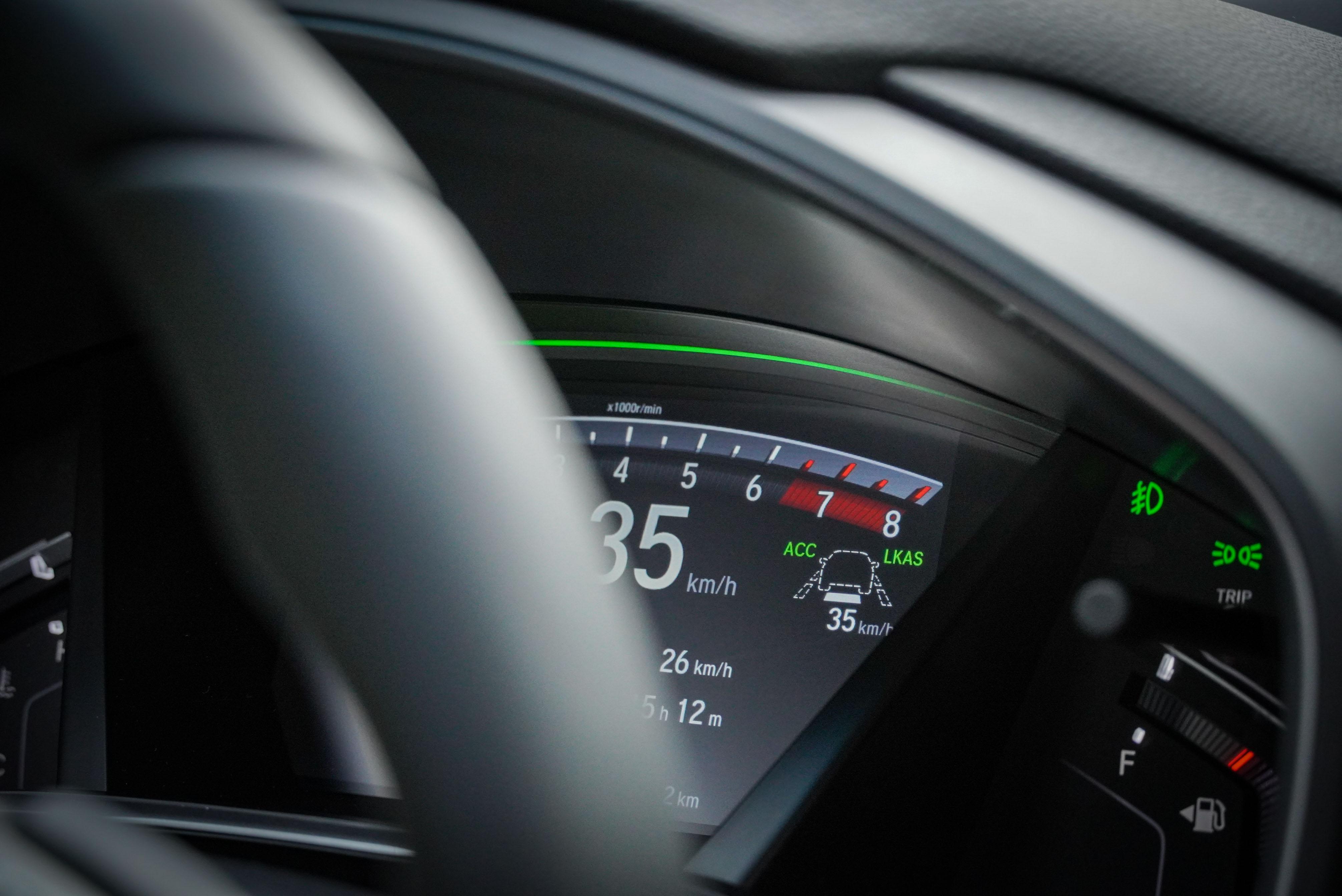 Honda SENSING 為全車系標配。