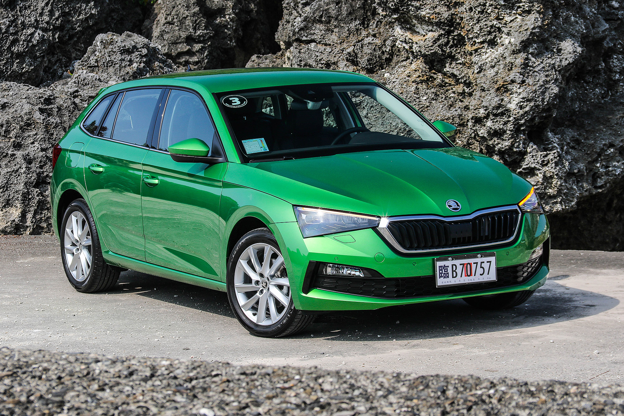 Scala 是 Škoda 第一款內、外都採用全新設計的量產作品。