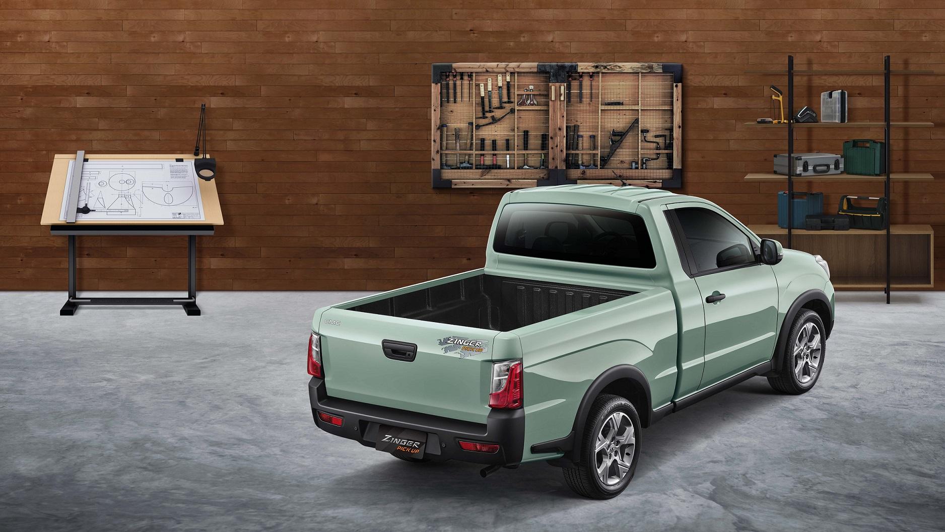 中華 Zinger Pick Up 上下貨更便利,雙車型 61.9 萬起