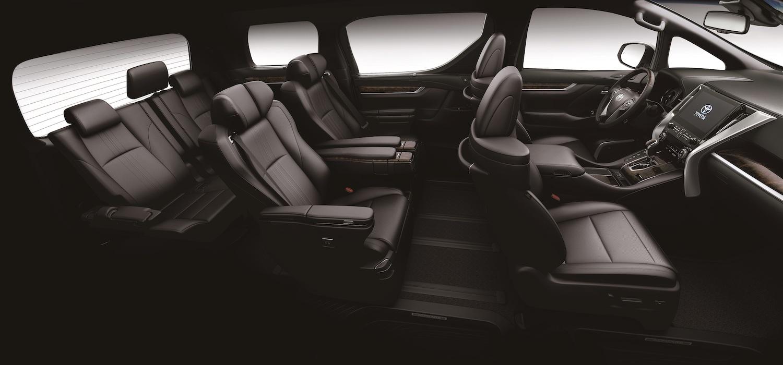 全新 Alphard 標配「Toyota Safety Sense 2.0智動駕駛輔助系統」,透過毫米波雷達及智能攝影機進行全方位的感應偵測,主、被動安全配備高達 34 項。