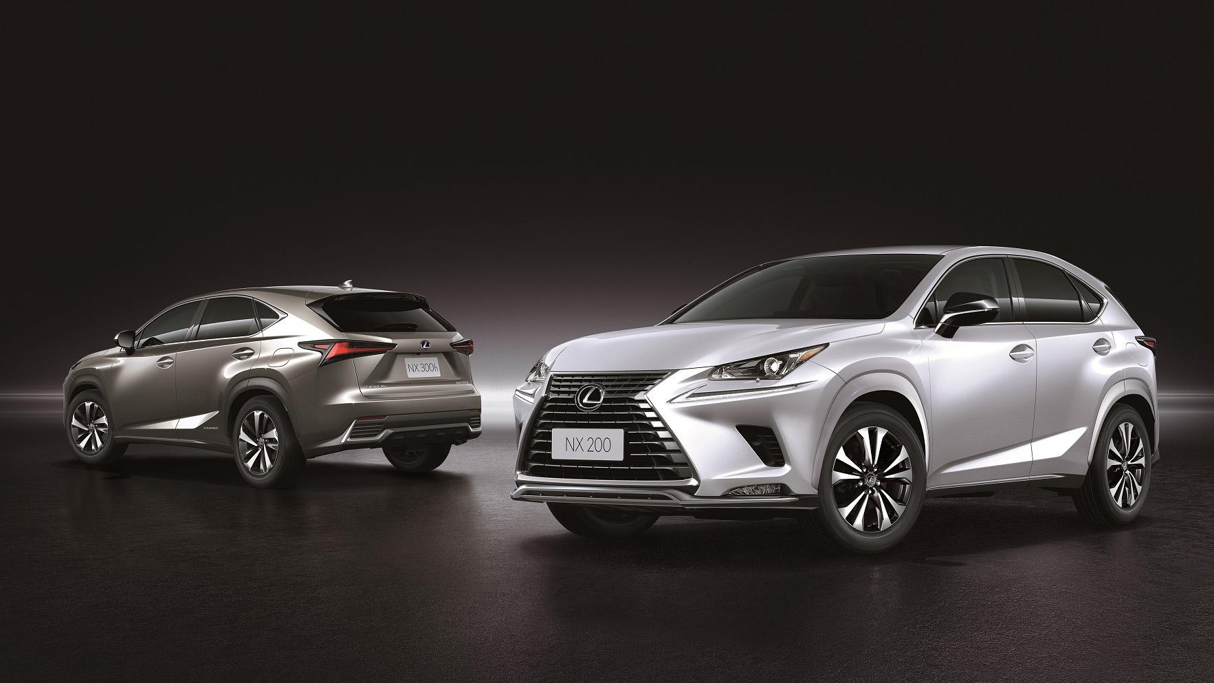 ▲ Lexus NX 200 都會風尚車型 157 萬起,配備升級不加價