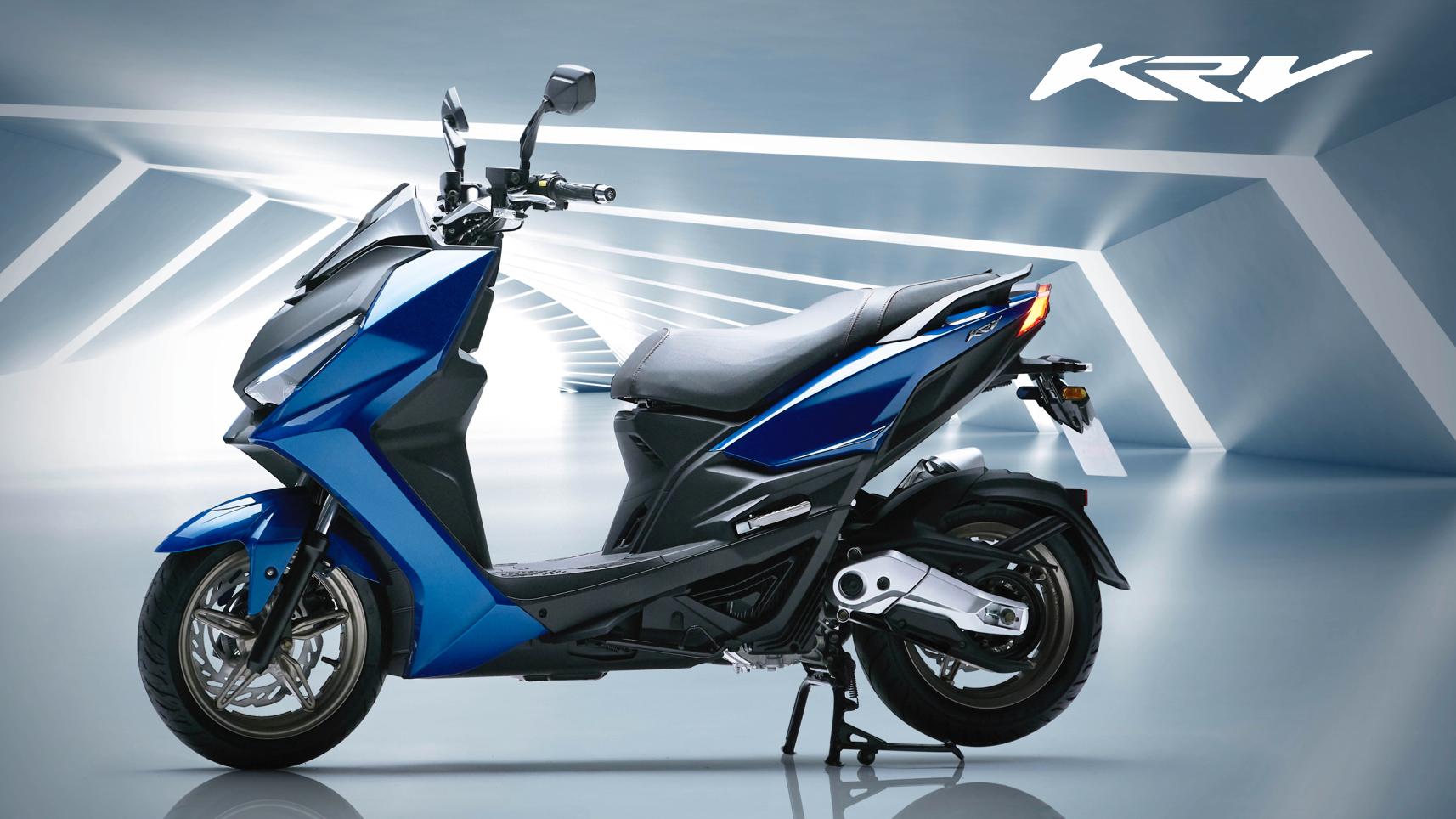 Kymco KRV 全新水冷雙車型 售價 112,800 元起