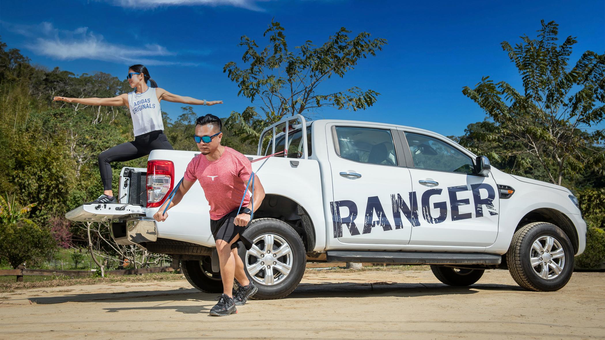 想練身體?開著 Ford Ranger 到哪都是健身房!