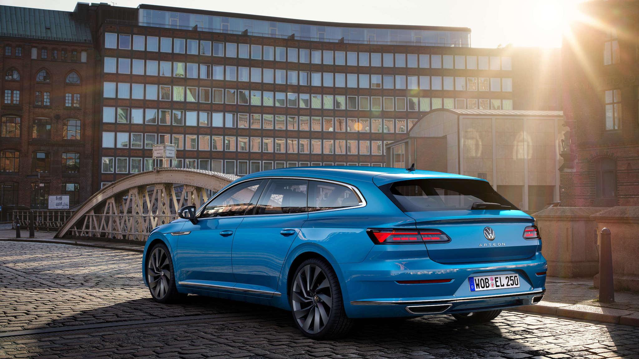 Volkswagen Arteon 美背雙車型預售 149.8 萬元起,限時升級 Harman Kardon 音響