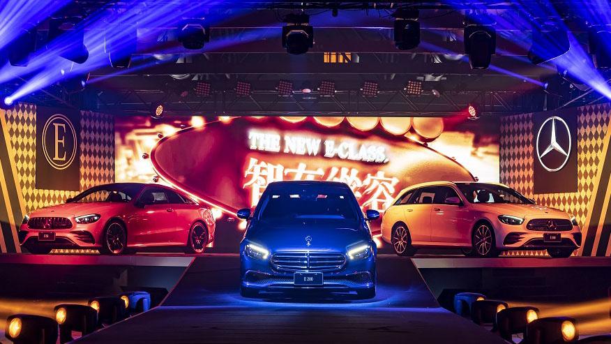 全新 E-Class 家族共 3 款車型、10 種規格。