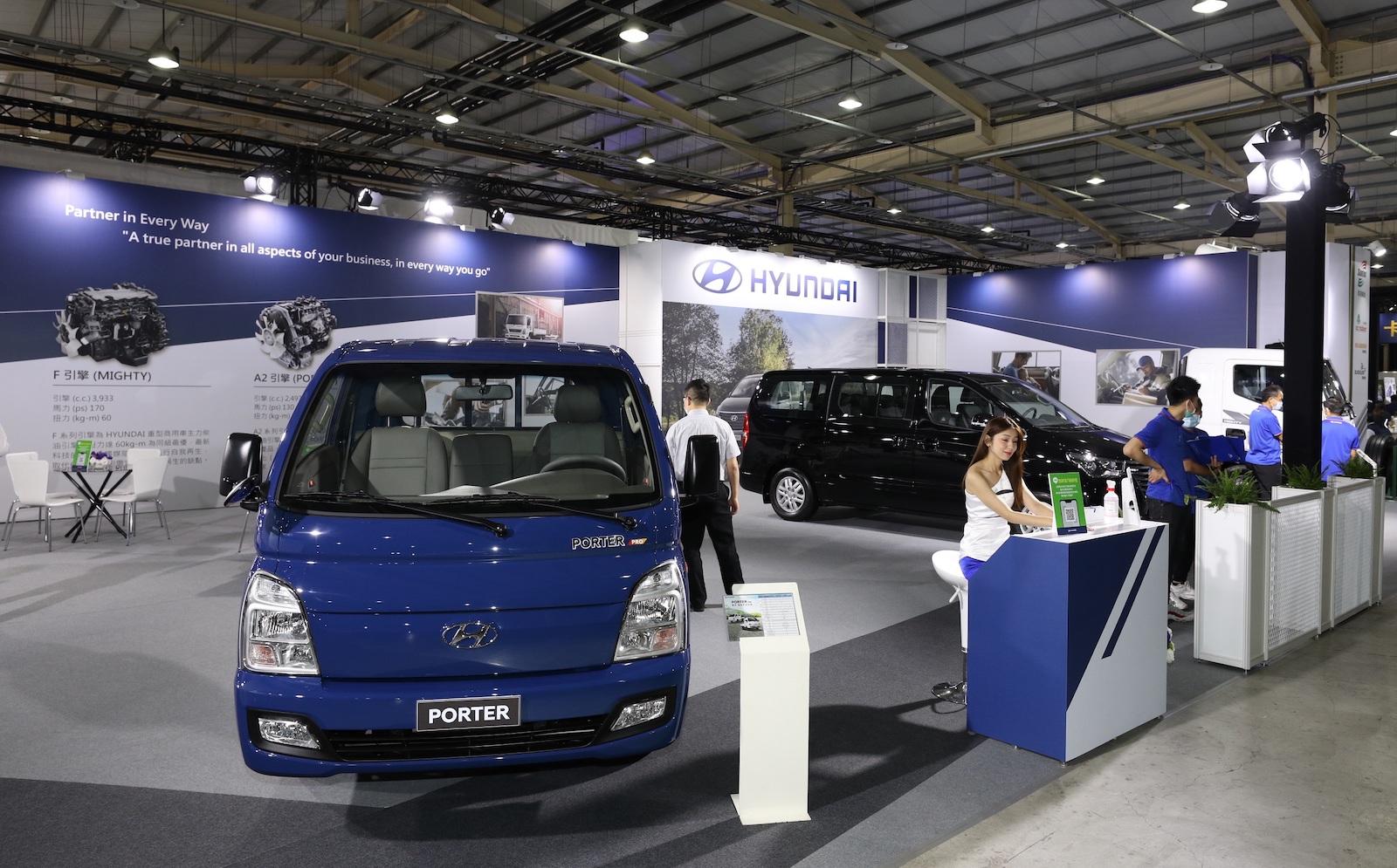 邀請消費者前往 2021 商業車博覽會 Hyundai 展區參觀。