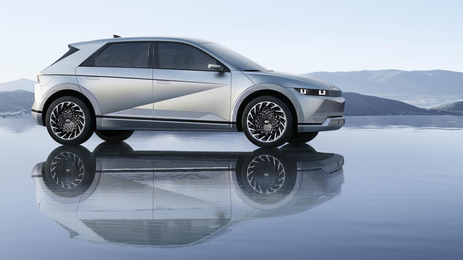 Hyundai Ioniq 5 設計超吸睛 Ioniq 6、7 接續登場