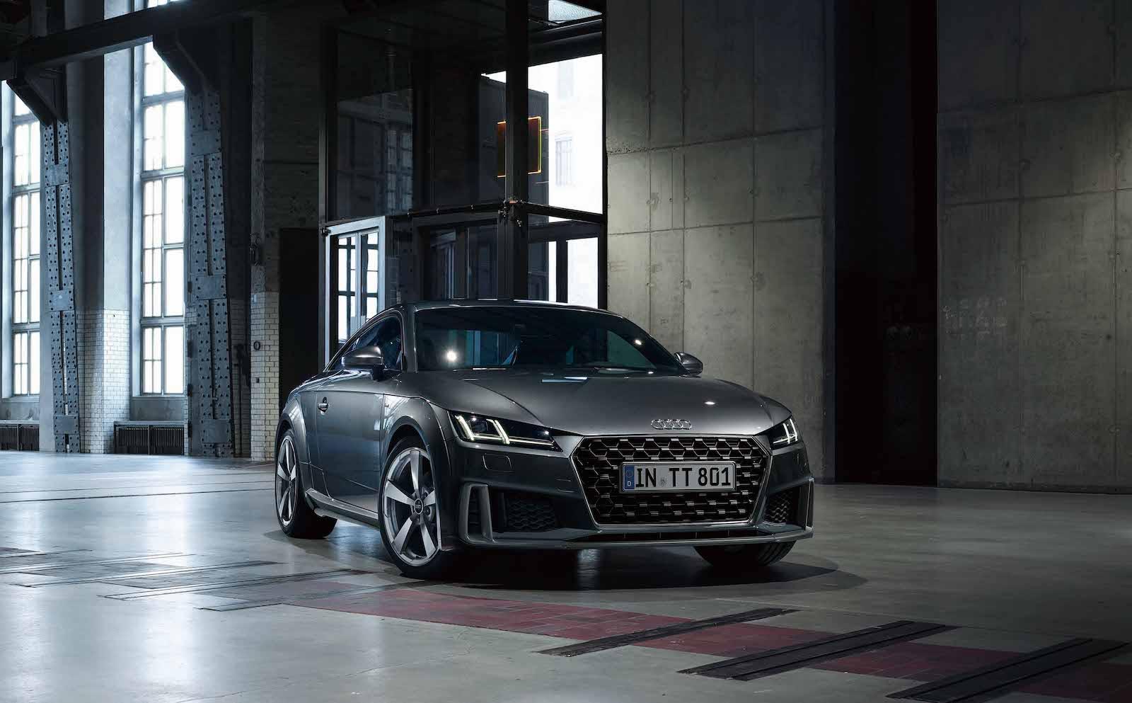 Audi TT Coupe。