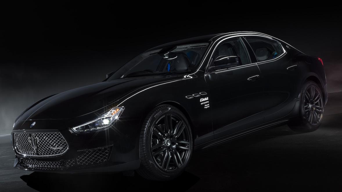 ▲ Maserati 跨界合作潮流教父藤原浩 限量推出 Ghibli Fragment 特仕版